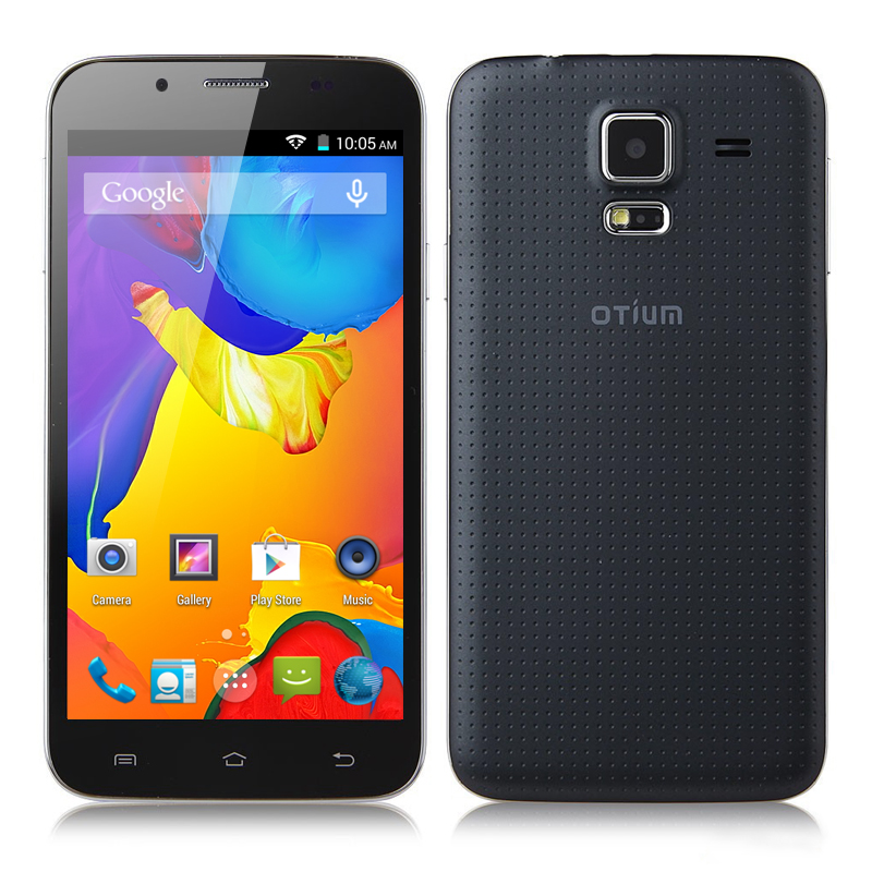 Otium S5 Android 4.4 Smartphone - 5 Inch 854x480 IPS Screen, MTK6582 Quad Core 1.3GHz CPU (Gray)