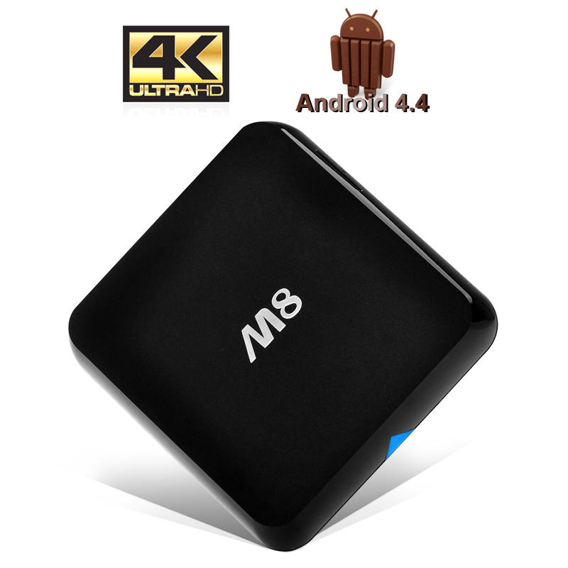 4K Android 4.4 Kitkat TV Box - Quad Core CPU, 2GB RAM, 8GB Internal Memory, XBMC Support
