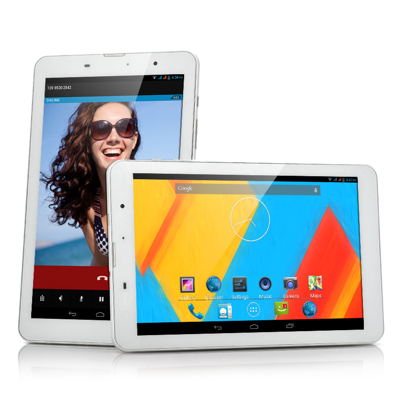 8 Inch HD 3G Android Tablet - MTK8382 Quad Core 1.3GHz CPU, 1280x800 Resolution, IPS Display