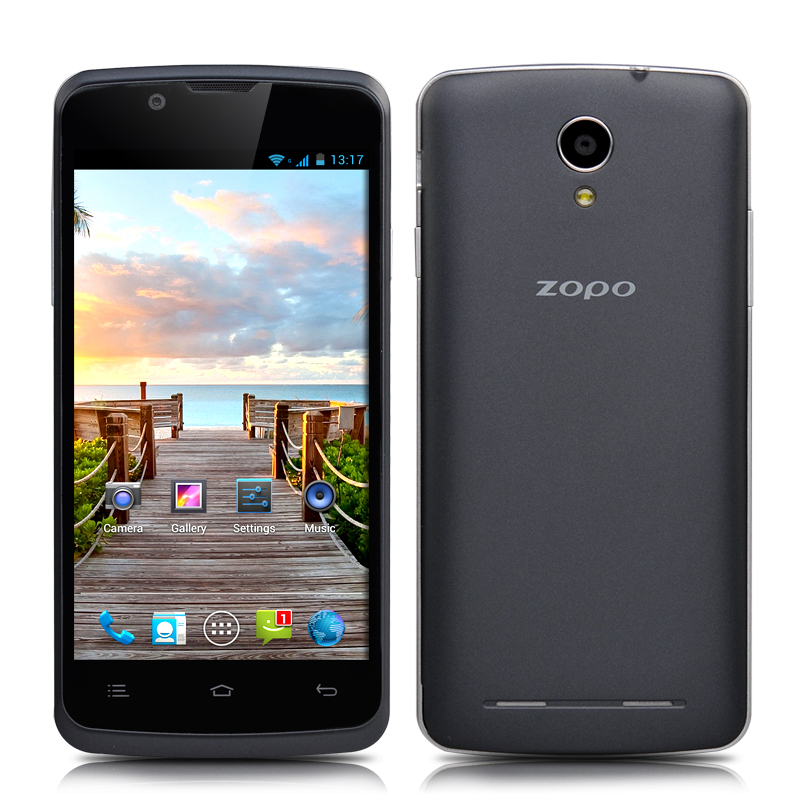 ZOPO ZP580 Dual Core Phone - 4.5 Inch 960x540 Capacitive Screen, MTK6572 1.3GHz CPU, 4GB ROM, 3G, Android 4.2 OS (Black)
