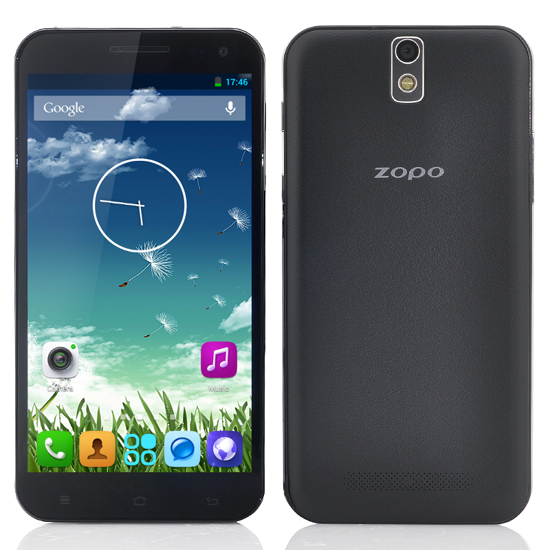 ZOPO ZP998 Android Phone - 5.5 Inch FHD 1920x1080 IPS Screen, MT6592 Octa Core 1.7GHz CPU, 2GB RAM, 16GB ROM (Black)