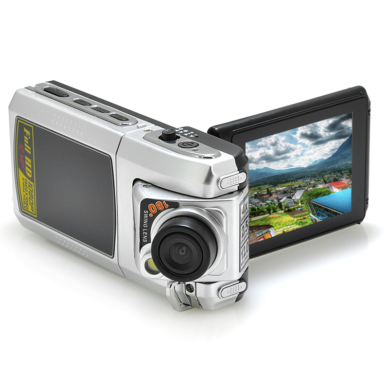 2.4 Inch LCD Car DVR - 1080p 25FPS, 1/4 Inch CMOS Sensor, 4x Digital Zoom, HDMI Port, SD Card Support