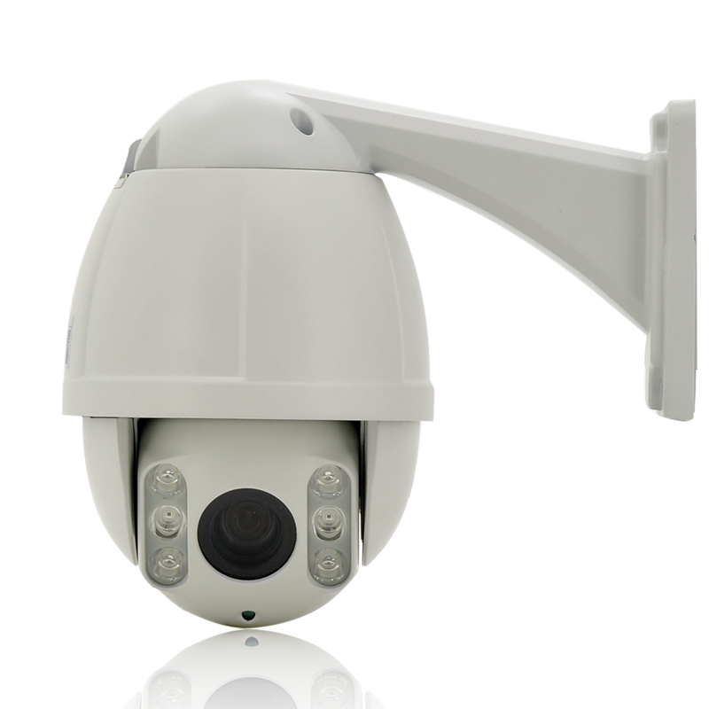 960p Outdoor IP Camera - 1/3 Inch CMOS Sensor, 1.3 Megapixel, 10x Optical Zoom, 100 Meter Night Vision, IR-CUT