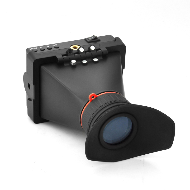 3.5 Inch Electronic Viewfinder 'Geographic' - For DSLR/HDV Camera, HDMI, 800x480