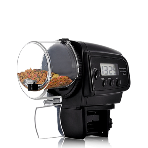 Automatic Fish Feeder with LCD Display (Anti-Jam Design)