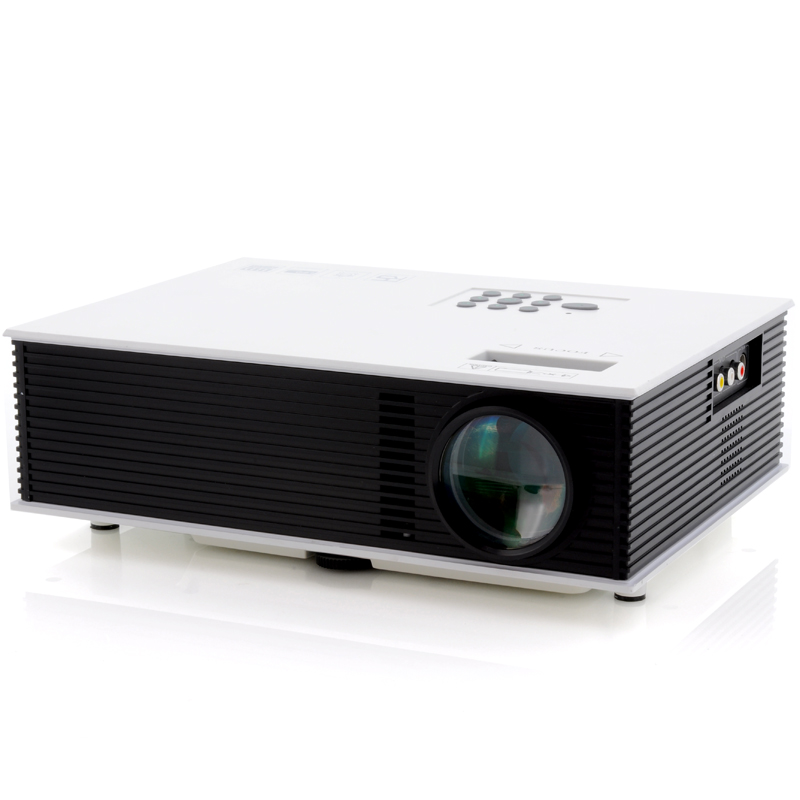 LED Video Projector 'MaxiView' - 1500 Lumens, 700:1 Contrast, HDMI and AV Port, 2x USB Ports