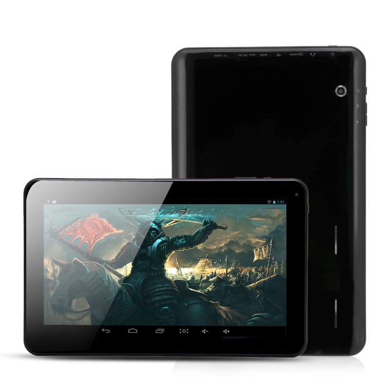 10.1 Inch Android Tablet 'Warlord' - Actions ATM7021 ARM Cortex-A9 Dual Core 1.3GHz CPU, 1024x600 Display Resolution, 8GB ROM