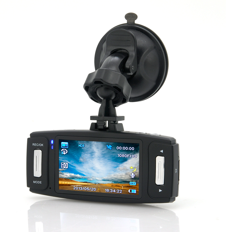 2.7 Inch Car Black Box DVR - GPS Logger, G-Sensor, Motion Detection, HDMI