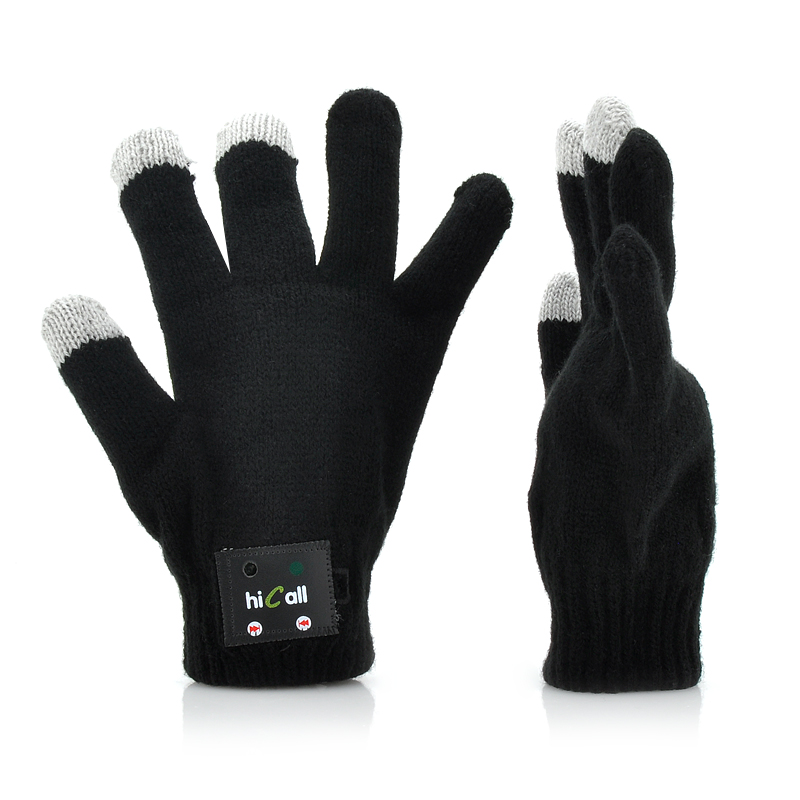 Hi-Call Talking Magic Gloves For Men - Bluetooth Pairing, Built-in Speaker + Microphone