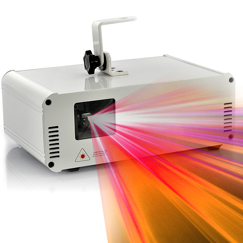 350mW RGB Laser Projector with RGB Color Animation - 2GB SD Card, ILDA, Custom Animations