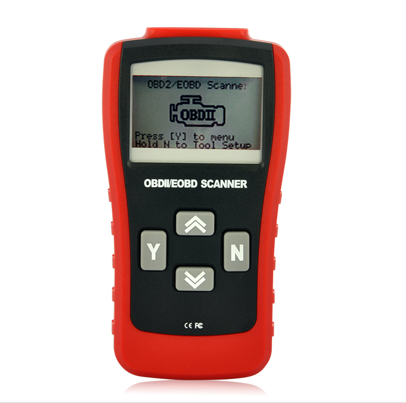 Professional OBD-II and EOBD Code Scanner - 3 Inch LCD Display