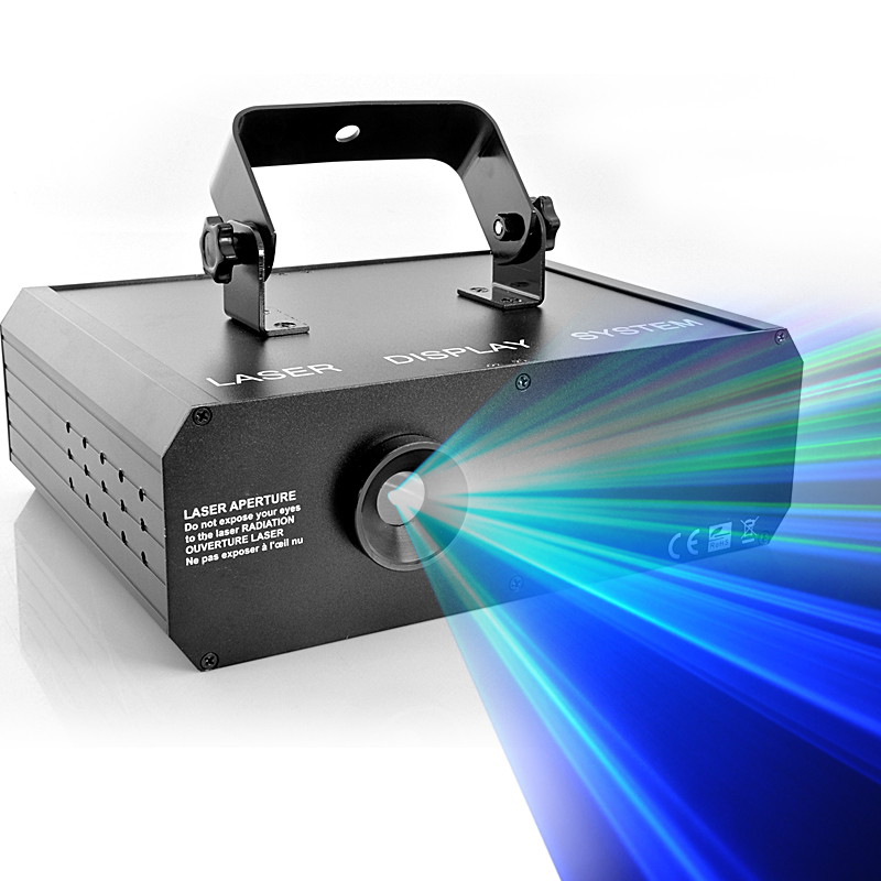 500mW RGB 3D Laser Projector with Full Color Animation, DMX link