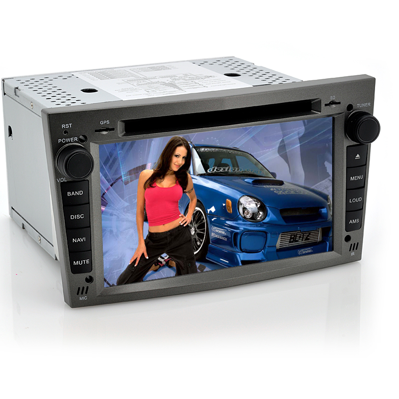 2 DIN 7 Inch Android Car DVD Player 'Road Ranger II' - For Opel Vehicles, GPS, Wi-Fi, DVB-T, CAN BUS, 8GB Internal Memory