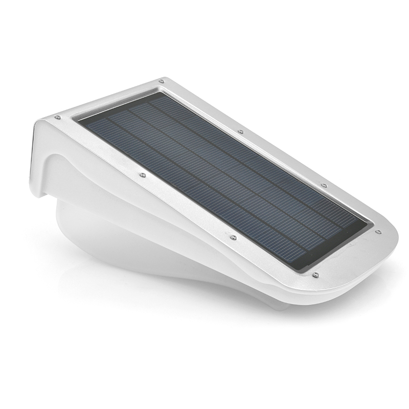 Solar LED Light - Polycrystalline Solar Panel, 3W, 300 Lumens, 3.7V 4400mAh Li-ion Battery