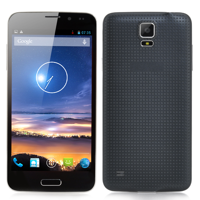 5 Inch Unlocked Smartphone 'Harrier' - MTK6582 Quad Core CPU, 3G, Android 4.2 OS, OGS Display (Black)