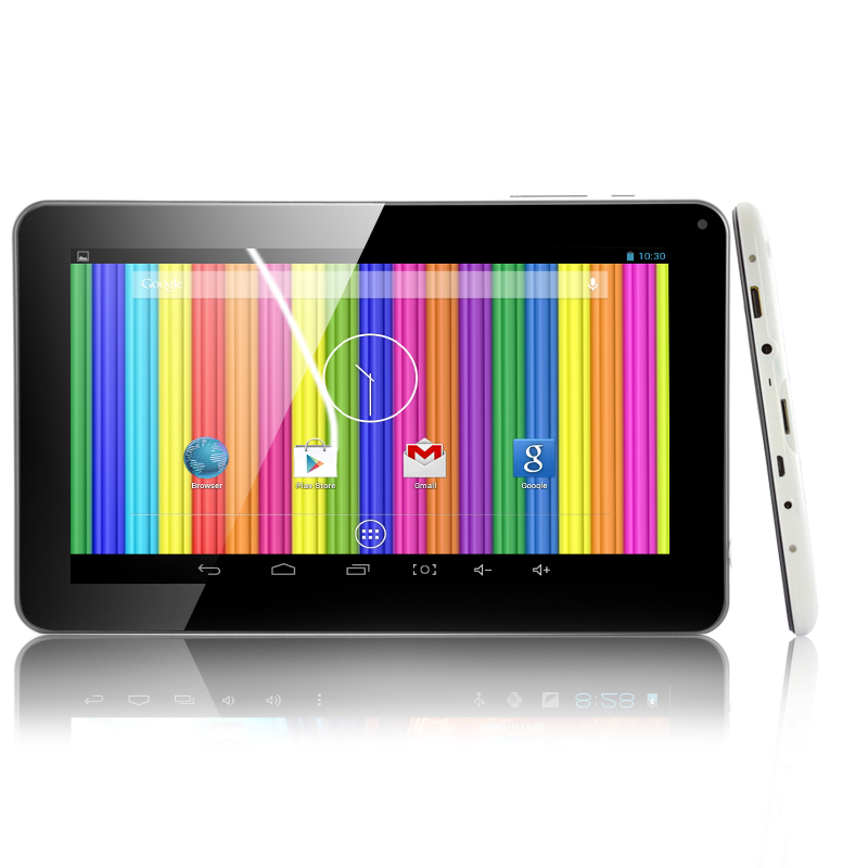 9 Inch Android 4.4 Tablet - Dual Core 1.3GHz CPU, 8GB ROM, Dual Cameras