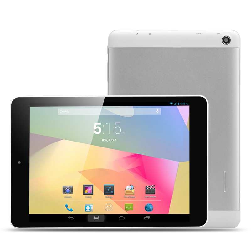 7.85 Inch Android 4.2 Tablet 'Volo' - 1024x768 Capacitive Touch Screen, MT8382 Quad Core 1.2GHz CPU, 1GB DDR3 RAM