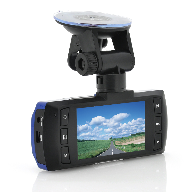 1080p Full HD Car Dashcam 'Electra' - 2.7 Inch Screen, G-Sensor, WDR, Wide Angle Recording