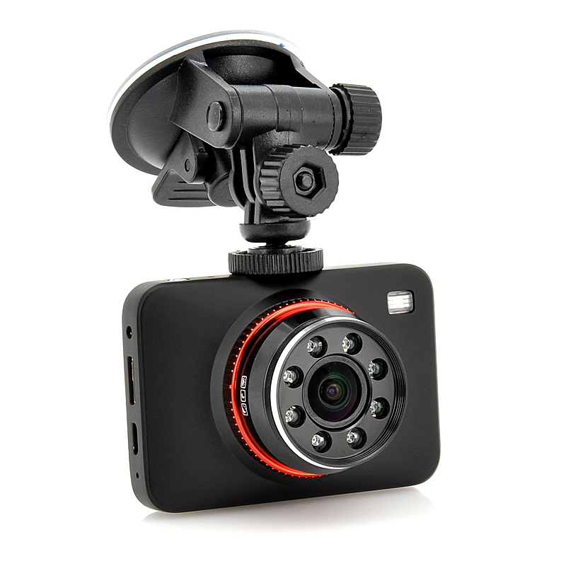 Car Blackbox DVR - HDMI, 4x Zoom, IR Night Vision, 2.7 Inch Screen, G-Sensor, 32GB Micro SD Card Slot, 150 Degree Angle Lens