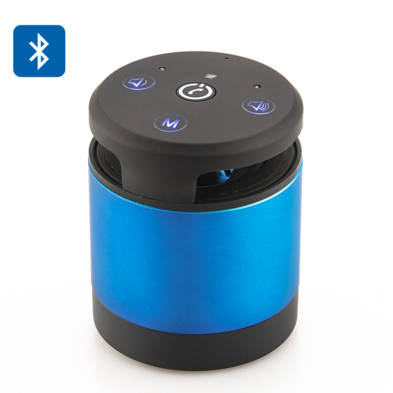 My Vision Portable Bluetooth Speaker - Gesture + Touch Control, Hands Free, SD Card, 4 Hours Play Time