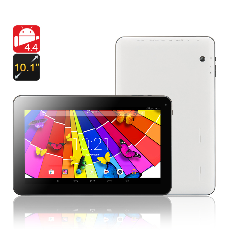 10.1 Inch Quad Core Tablet 'Quantum' - Android 4.4 OS, Cortex A7 Quad Core 1.2GHz CPU, 1GB RAM, 16GB ROM, Bluetooth, OTG Support