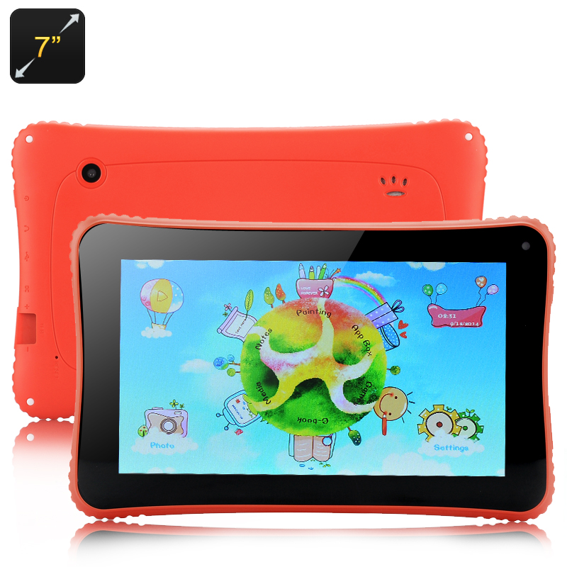 Venstar K7 Children's Tablet - 7 Inch Display, Android 4.2 OS, RK3026 Cortex A9 Dual Core Processor (Red)