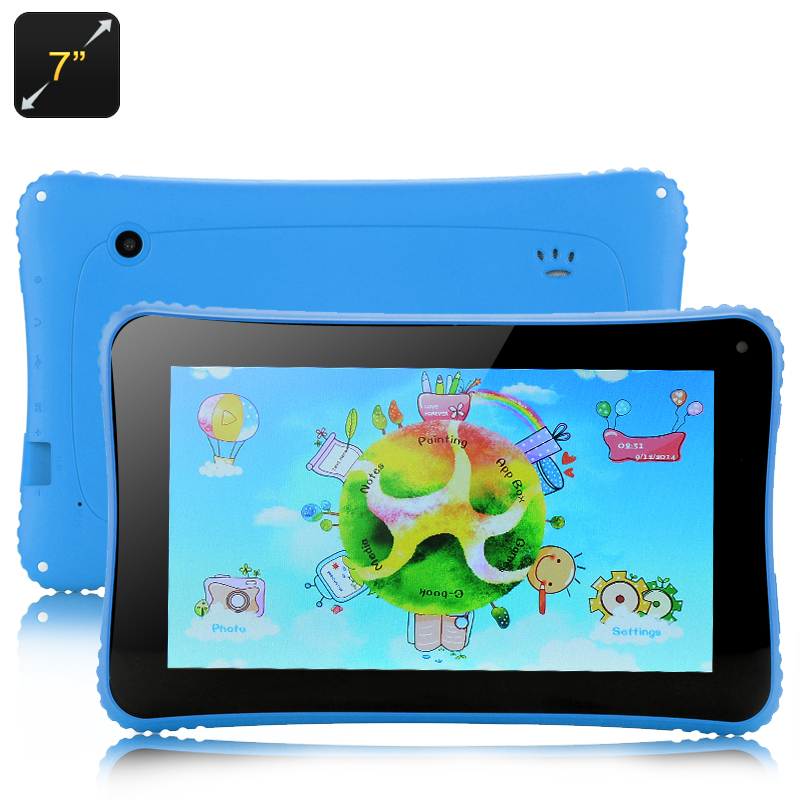 Venstar K7 Android Children's Tablet - 7 Inch, 4.2 OS, RK3026 Cortex A9 Dual Core Processor (Blue)