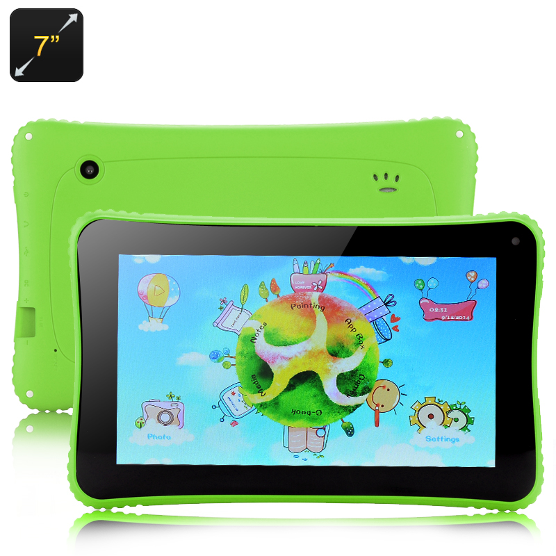Venstar K7 Children's Tablet - Android 4.2 OS, 7 Inch Display, RK3026 Cortex A9 Dual Core Processor (Green)