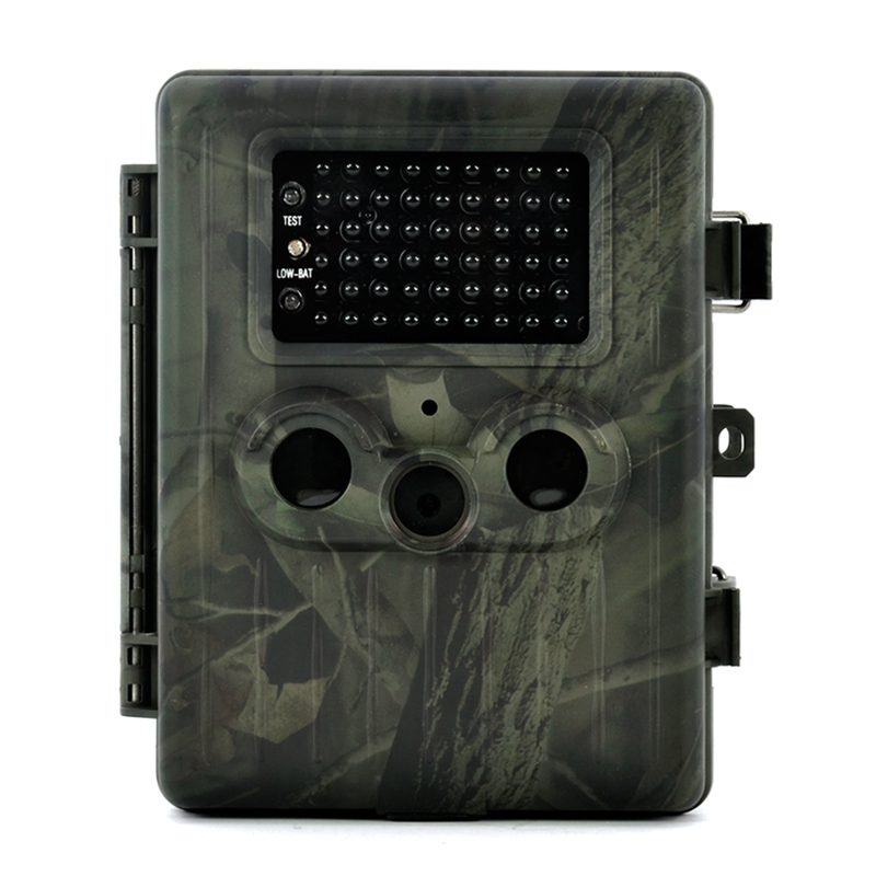 Game Camera 'Trailview' - 1080p HD, PIR Motion Detection, Powerful Night Vision, MMS View, 2.5 Inch Screen, Rechargable Battery