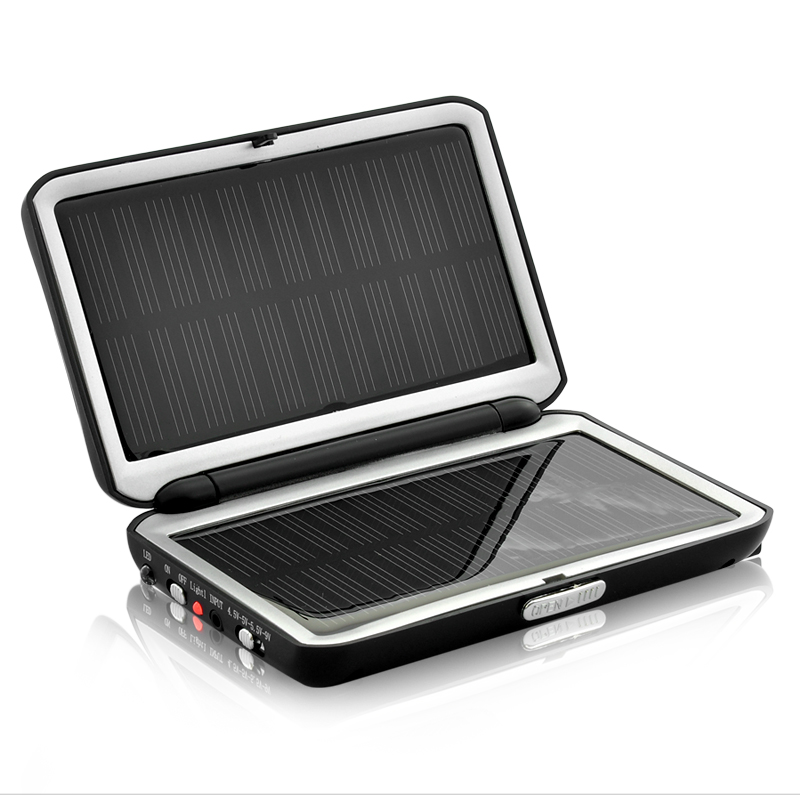 Compact Solar Charger and Battery (2,000 mAh)