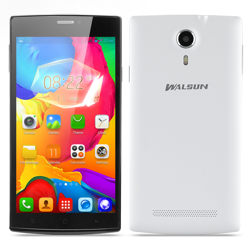 Walsun Finder Phone - 5.5 Inch 960x540 Capacitive IPS Screen, MTK6572 Dual Core 1.2GHz CPU, 512MB RAM, Android 4.2 OS (White)