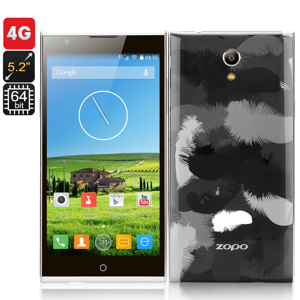 ZOPO ZP920 4G Phone - 5.2 Inch 1920x1080 IPS Screen, MTK6752 64 Bit Octa Core CPU, 8MP Front + 13.2 MP Rear Cameras
