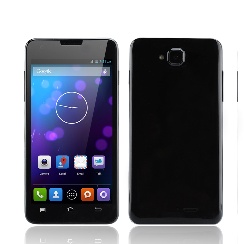 4.5 Inch Android 4.2 Smartphone - MTK6572 Dual Core 1.3GHz CPU, 3G, 2x SIM Support (Black)