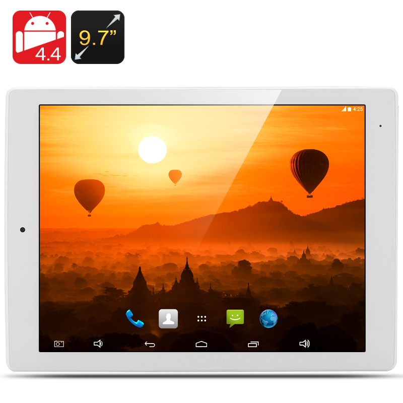 9.7 Inch E-Ceros Revolution 2 Tablet PC - 2048x1576 Retina Screen, 2GB RAM, RK3288 Quad Core CPU, 32GB Internal Memory (White)