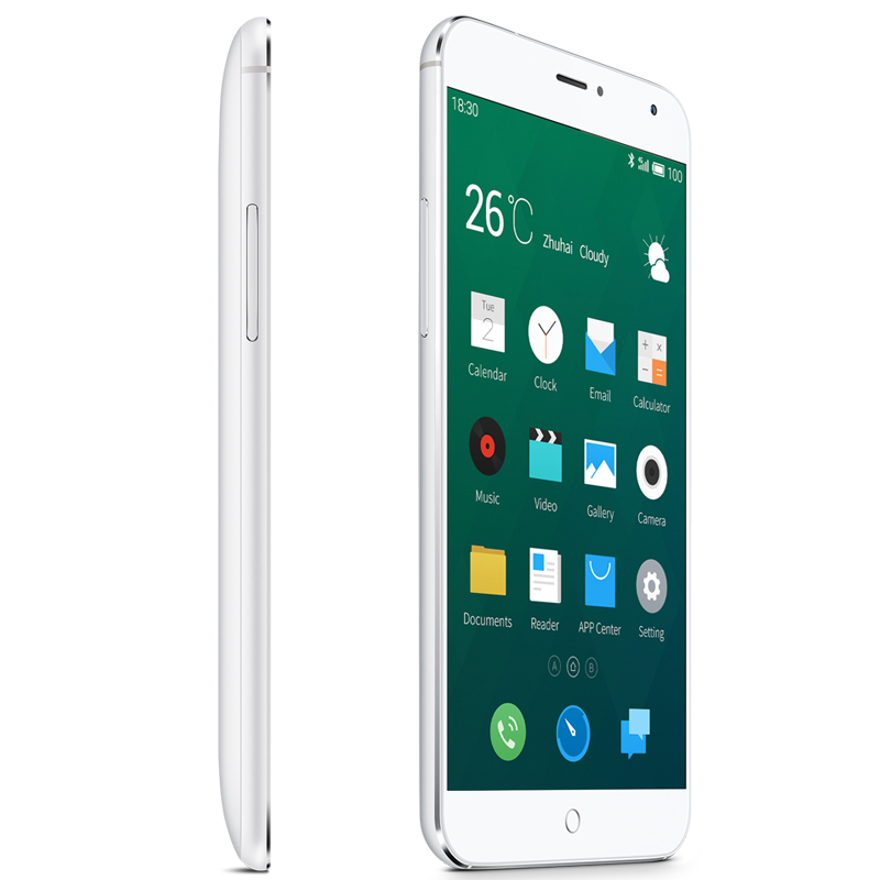 Meizu MX4 4G Smartphone - 32GB Capacity, International Version (Silver) + Free Express Shipping Refund