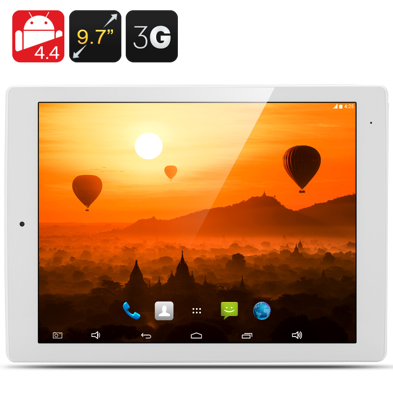 9.7 Inch E-Ceros Revolution 2 3G Tablet - 2048x1576 Retina Screen, Quad Core 1.8GHz CPU, 2GB RAM, 32GB Internal Memory (White)