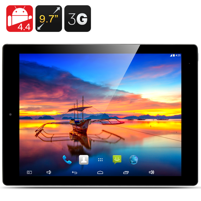 9.7 Inch E-Ceros Revolution 2 3G Tablet - Quad Core CPU, 2048x1576 Retina Screen, 2GB RAM, 32GB Internal Memory (Black)