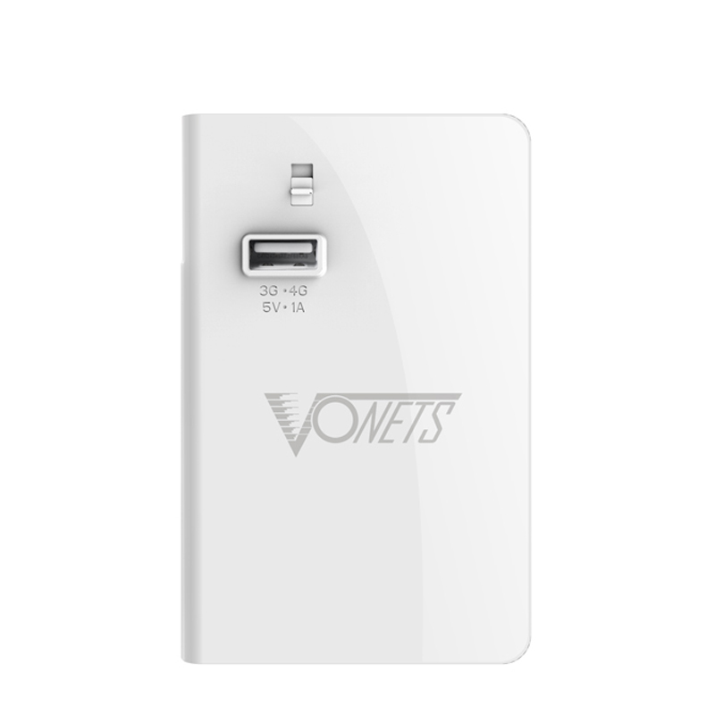Vonets Magic 4G Wi-Fi Router + Wi-Fi Repeater - 3G/4G, 300Mbps, 6000mAh Portable Power Bank, 1A/2.1A Output Charge Function