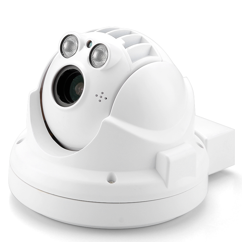 Outdoor Weatherproof Mini IP Camera - 720p, H.264 Compression, PTZ, 4x Optical Zoom, Night Vision, ONVIF Support