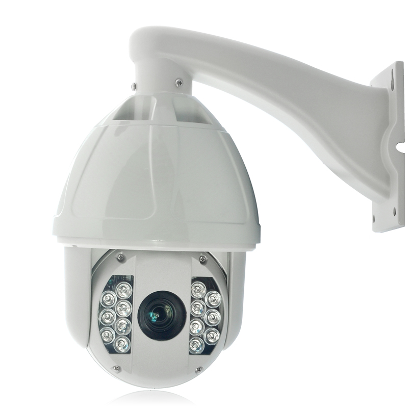 Speed Dome IP Camera 'Ghost' - 30x Optical Zoom, 1/4 Inch CMOS Sensor, PTZ, 100m Nightvision