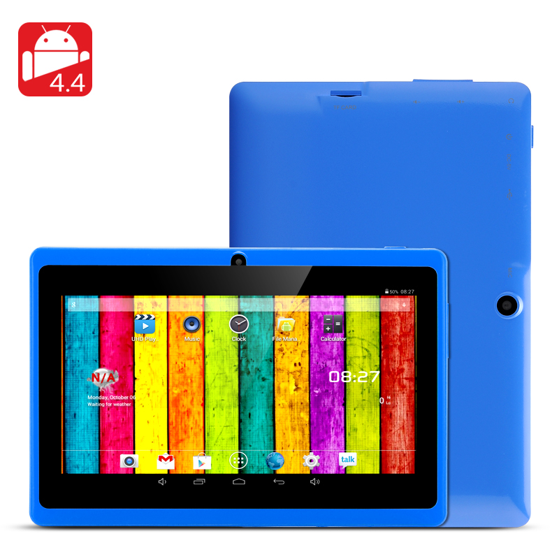 7 Inch Tablet 'Horus 8GB' - Android 4.4 , Dual Core 1.5GHz CPU, Wi-Fi, Front + Rear Facing Camera (Blue)