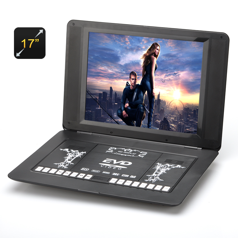 17 Inch Portable DVD Player - Copy Function