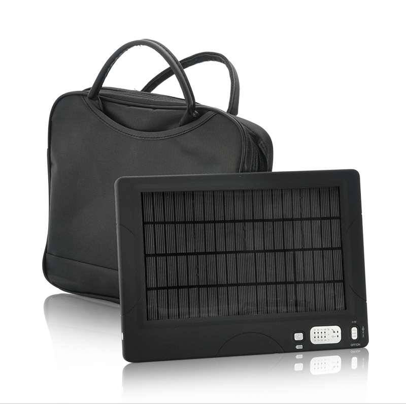 High Capacity Solar Battery and Charger (54500mAh)