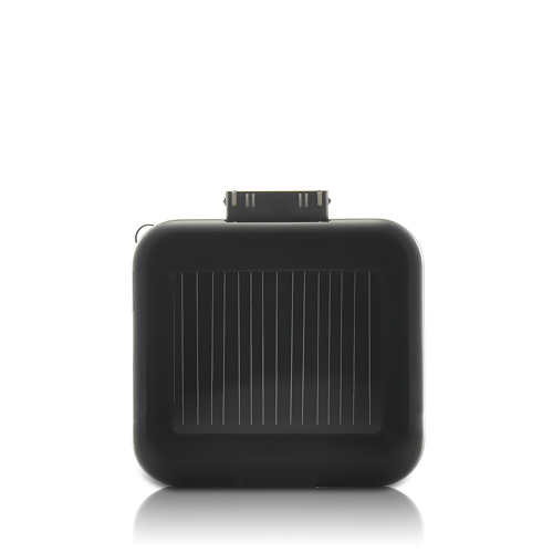 Solar Battery Charger for iPhone, iPod, and USB Devices (Black)