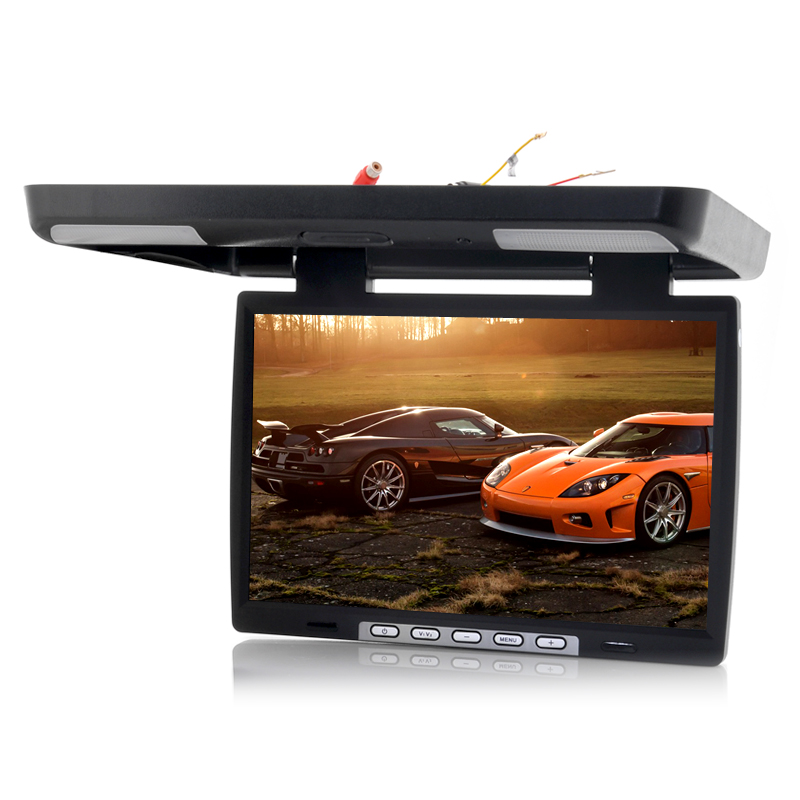 15.4 Inch Roof Mounted Car Monitor - IR Transmitter, 1024x760, PAL + NTSC
