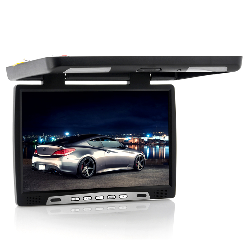 17 Inch Roof Mounted Car Monitor - IR Transmitter, 1440x900, PAL + NTSC