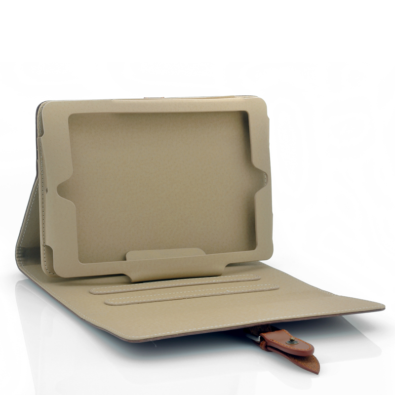 Case For iPad Mini - Built in Stand, Leather