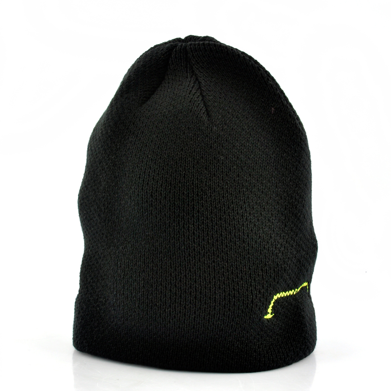 Beanie Hat With Built-in Headphones - Black