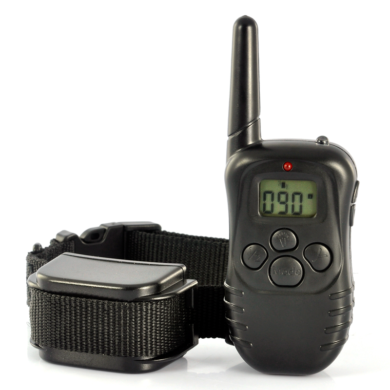 Pet Dog Training Collar - LCD Display Remote, Built in Battery