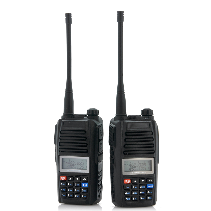 UHF Long Range Walkie Talkie Set - 3 to 5 KM Range, Calling Function